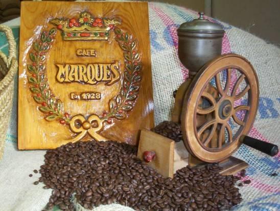 Desde 1928, Cafés Marqués.