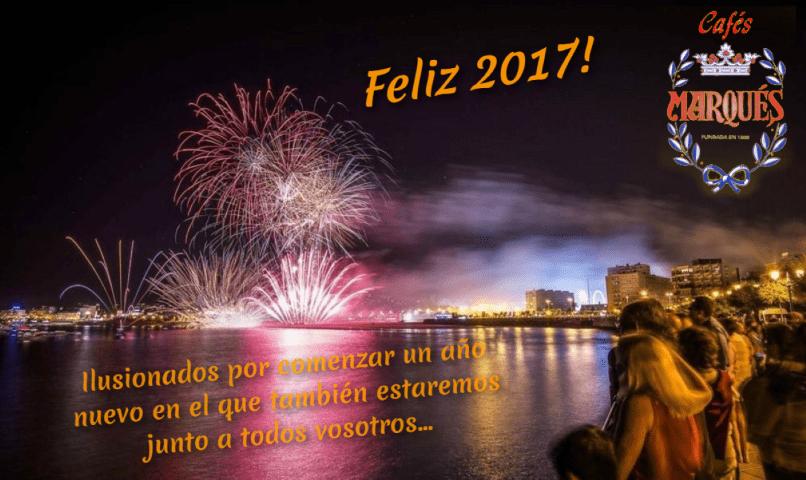 Cafés Marqués os desea un próspero 2017
