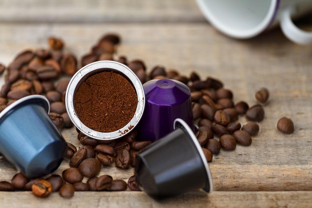Distribuidor de cápsulas de café para hostelería